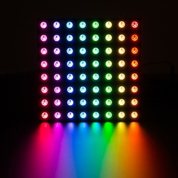Adafruit NeoPixel NeoMatrix 8x8, 64 RGB LED Pixel Matrix