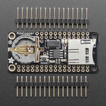 Adafruit Adalogger FeatherWing, RTC + SD Add-on For All Feather Boards