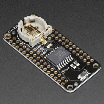 Adafruit DS3231 Precision RTC FeatherWing, RTC Add-on For Feather Boards