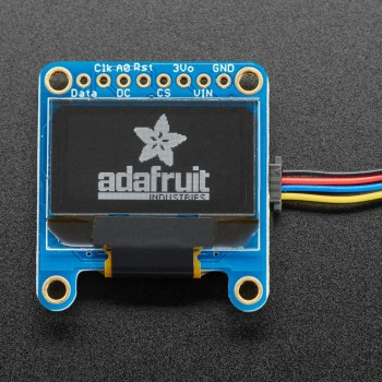 "Adafruit Monochrome 0.96"" 128x64 OLED Graphic Display, STEMMA QT"