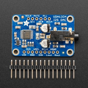 Adafruit I2S Stereo Decoder, UDA1334A Breakout