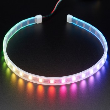 Adafruit NeoPixel LED Strip with 3-pin JST Connector, 60 LED/m, 0.5 Meter