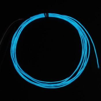Adafruit High Brightness Blue Electroluminescent (EL) Wire, 2.5m