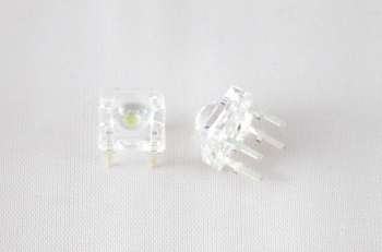 Super Flux LED, green, ultra-bright, 5mm top