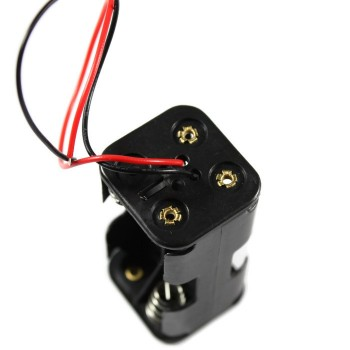 Battery Clip, Holder for 4x AA Battery