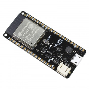 WeMos LOLIN32 with ESP32, WiFi, Bluetooth / BLE