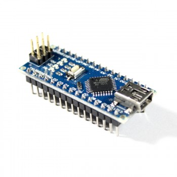 Nano V3 Module with ATmega328P and USB Cable, assembled, 5V, 16MHz, Arduino compatible