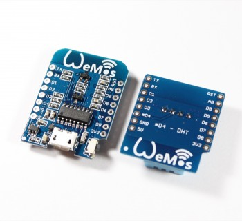 WeMos D1 mini NodeMCU mit ESP8266 + DHT Shield