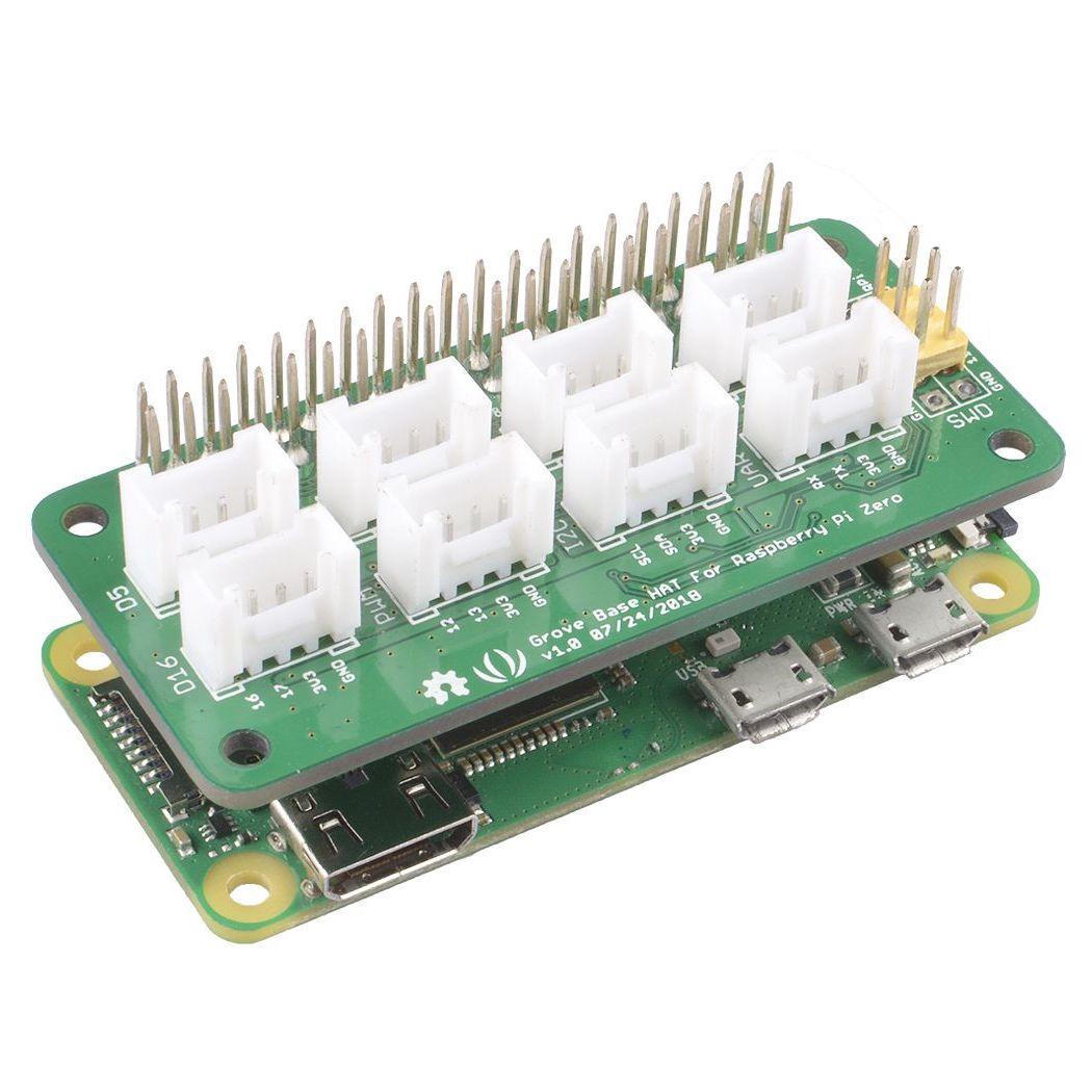Seeed Studio Grove Base HAT for Raspberry Pi Zero | Paradisetronic com