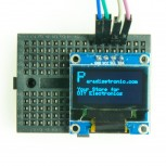 "0.96"" OLED Display with 128x64 Pixel, I2C, blue"