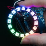 Adafruit NeoPixel Ring, 16 x 5050 RGB LED with Integrated Drivers