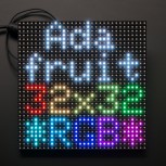 Adafruit 32x32 RGB LED Matrix Panel, 6 mm Rastermaß