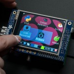 "Adafruit PiTFT, 320x240 2.8"" TFT+Touchscreen for Raspberry Pi"