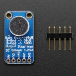 Adafruit Electret Microphone Amplifier, MAX9814 with Auto Gain Control