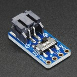 Adafruit Switched JST-PH 2-Pin SMT Right Angle Breakout Board