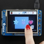 "Adafruit PiTFT Plus Assembled 320x240 2.8"" TFT + Resistive Touchscreen"