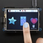 "Adafruit PiTFT Plus, 480x320 3.5""  TFT+Touchscreen for Raspberry Pi"
