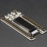 Adafruit FeatherWing OLED, 128x32 OLED Add-on für alle Feather Boards