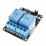 2-Channel Relay Module with Opto-isolator, 5V
