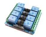2x4-Channel Relais Module with Opto-isolator, 5V
