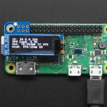 Adafruit PiOLED, 128x32 Monochrom-OLED Add-on für Raspberry Pi