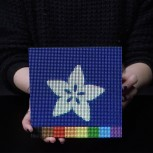 Adafruit 64x64 RGB LED Matrix Panel, 2,5mm Rastermaß