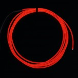 Adafruit High Brightness Red Electroluminescent (EL) Wire, 2.5m