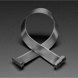 Adafruit GPIO Ribbon Cable 2x8 IDC Cable, 16 pins 12