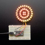 Adafruit NeoPixel Triple-Ring Board with 44 Thru-Hole LEDs, 66mm Diameter