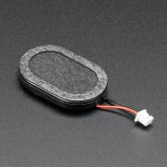Adafruit Mini Oval Speaker with Short Wires, 8 Ohm 1 Watt
