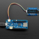 Adafruit 5-pin Arduino MKR to 4-pin JST SH STEMMA QT / Qwiic Cable, 10cm long