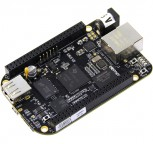 BeagleBone Black, Rev. C, Einplatinencomputer mit 1GHz ARM, 4GB Flash und 512MB DDR3
