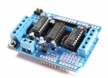 Motor Shield with 2x L293D Stepper Motor/Servo Driver
