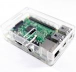 Case for Raspberry Pi B+ / Pi 2 / Pi 3, Clear