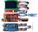 RAMPS 1.4 Kit with Shield, Mega 2560, 5x DRV8825, 12864 LCD for RepRap 3D Printer