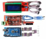 RAMPS 1.4 Kit with Shield, Mega 2560, 5x DRV8825, 2004 LCD for RepRap 3D Printer