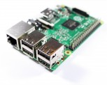 Raspberry Pi 3, Model B, 64-Bit 1,2 GHz Quad-Core ARMv7, WLAN, BLE, 1GB RAM, Made in UK