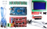 RAMPS 1.4 Kit with Shield, Mega 2560, 5x A4988, 12864 LCD for RepRap 3D Printer
