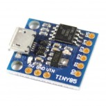 Tiny85 Board with ATtiny85, MicroUSB, Digispark and Arduino IDE compatible