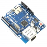 Ethernet Shield + MicroSD Slot with W5100 Controller for Arduino